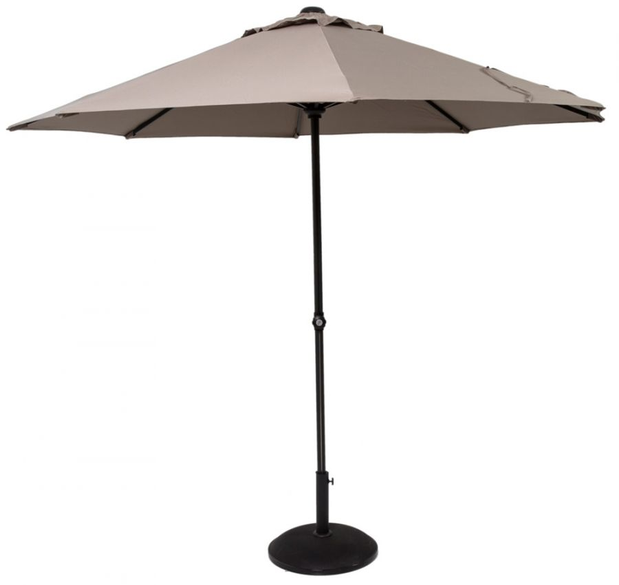 Norfolk Leisure 3.3m Easy Up Parasol in Taupe