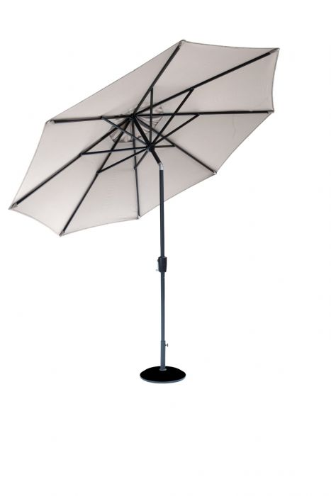 Norfolk Leisure 3m Elizabeth Parasol in Mouse Grey