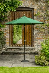 Norfolk Leisure 2.7m Elizabeth Parasol in Green