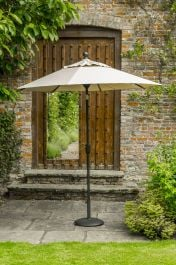Norfolk Leisure 2.7m Elizabeth Parasol in Taupe