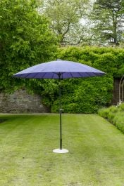 Norfolk Leisure 2.7m Geisha Parasol in Purple