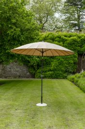 Norfolk Leisure 2.7m Geisha Parasol in Taupe