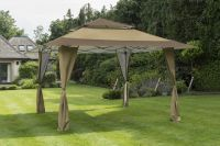 Norfolk Leisure XL Pergola Pop Up Gazebo in Taupe 4x4m