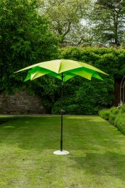 Lotus Parasol in Lime 2.7m