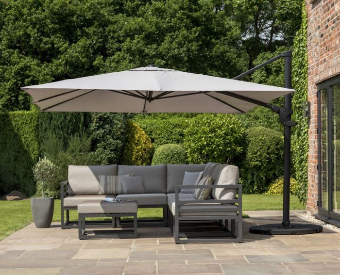 Norfolk Leisure 3x3m Deluxe Square Cantilever in Taupe