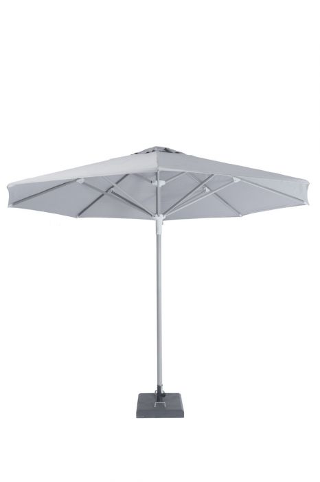 Norfolk Leisure 3.5m Telescopic Parasol in Mouse Grey
