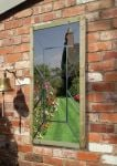 3ft 11in x 1ft 11in Perspective Garden Mirror