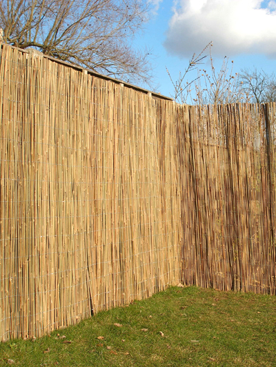 Bamboo Cane Natural Fencing Screening 4.0m x 1.8m (13ft 1in x 6ft) - By Papillon™