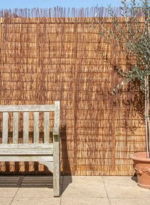 Natural Fern Fencing Screening 4.0m x 2.0m (13ft 1in x 6ft 7in) - £4.00 Per M² - By Papillon™