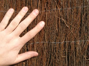 Brushwood Thatch Natural Fencing Screening Rolls (Thick) 4.0m x 1.0m (13ft 1in x 3ft 3in) - By Papillon™
