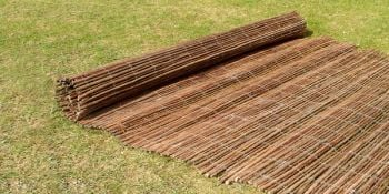 Willow Natural Fencing Screening Rolls 4.0m x 1.2m (13ft 1in x 4ft) - By Papillon™