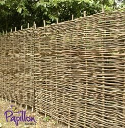 Hazel Hurdles Fencing Panel 1.82m x 1.82m (6ft x 6ft) - By Papillon™