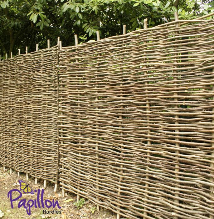 Hazel Hurdles Fencing Panel 1.82m x 0.9m (6ft x 3ft) - By Papillon™