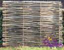 Birchwood Capped Hazel Hurdle Fencing Panel 1.82m x 1.37m (6ft x 4ft 6in) - By Papillon™