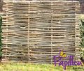 5ft (1.5m) Birchwood Capped Hazel Hurdle Fencing Panel by Papillon™