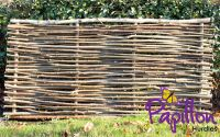 3ft (90cm) Birchwood Capped Hazel Hurdle Fencing Panel by Papillon™