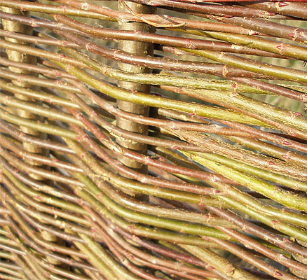 Willow Hurdles Fencing Panel 1.82m x 1.37m (6ft x 4ft 6in) - By Papillon™