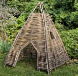 Hazel Children's Twigwam Fort 1.6m (5ft 3in)