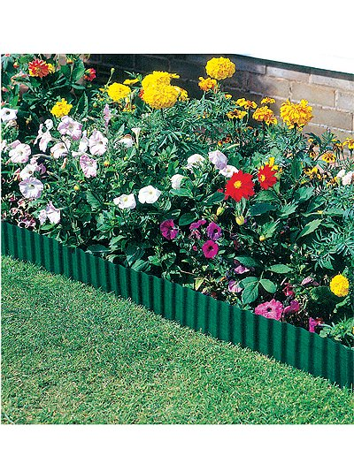 Green Lawn Edging - (H16.5cm x L9m)