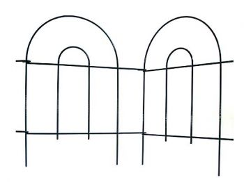 3m Hoop Top Edging Easy Fence - H40cm (Large)
