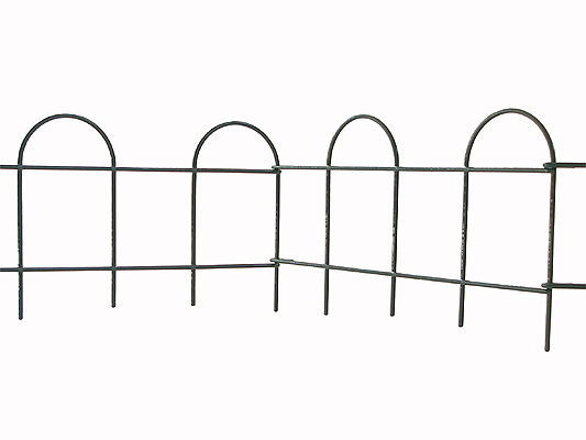 3m Hoop Top Edging Easy Fence Lawn Edging - H20cm (Small)