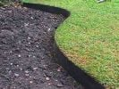 10m Easy Lawn Edging in Black - H14cm - Smartedge