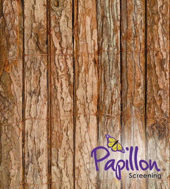 Bark Natural Fencing Screening Rolls 4.0m x 2.0m (13ft 1in x 6ft 7in) - By Papillon™
