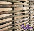 Contemporary Split Hazel Hurdles Medium Fencing Panel 1.82m x 0.9m (6ft x 3ft) - By Papillon™