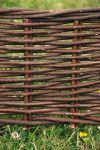 L2m Woven Willow Hurdle Edging - H20cm - by Papillon™