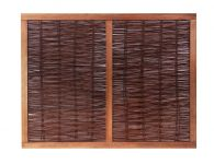 4ft 6in (1.37m) Heavy Framed Willow Hurdles Fencing Panels by Papillon™