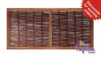 3ft (91.5cm) Heavy Framed Willow Hurdles Fencing Panels by Papillon™