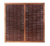 6ft (1.82m) Heavy Framed Willow Hurdles Fencing Panels by Papillon™