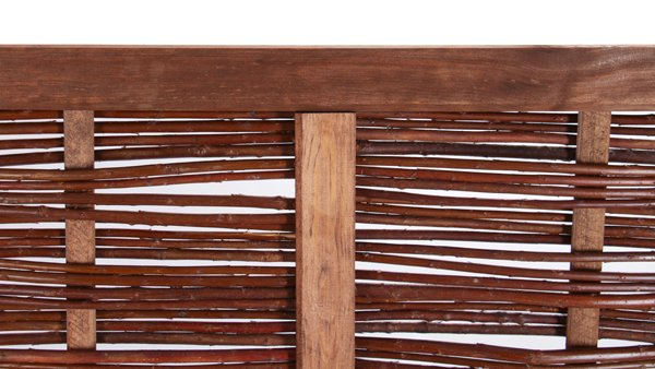 4ft 6in (140cm)  Framed Willow Hurdles Fencing Panels by Papillon™