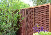 3ft (90cm) Framed Willow Hurdles Fencing Panels by Papillon™