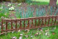 L1m Willow Border Edging - Set of 2 - H35cm