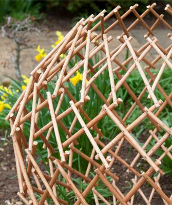 Expandable Garden Willow Trellis Sphere