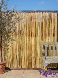 Bamboo Fence Panel with Frame 1.82m x 1.8m (6ft x 6ft) - By Papillon™