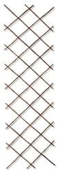 Black Bamboo Expandable Fencing Screening Trellis 1.8m x 0.9m (6ft x 3ft) - By Papillon™