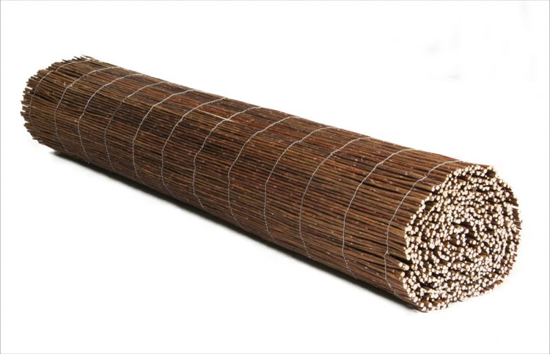 Premium Willow Fencing Screening Rolls 5.0m x 1.5m (16ft 4in x 5ft) - £5.54 Per M² - By Papillon™