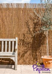 Premium Willow Fencing Screening Rolls 5.0m x 2.0m (16ft 4in x 6ft 7in) - £5.50 Per M² - By Papillon™