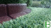 L1m Flexi-Border Garden Edging in Brown - H8cm - by EcoBlok
