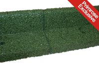 2m Flexi-Border Garden Edging (2x 1m packs) in Green - H8cm - by EcoBlok