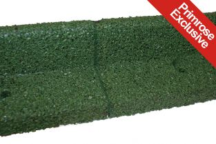 10m FlexiBorder Garden Edging (10x 1m packs) in Green - H8cm - by EcoShape