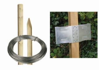 5ft6 Round Post Screening or Hurdle Advanced Installation Kit - Additional Panel