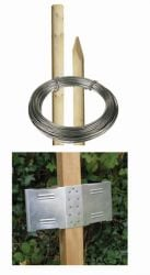 8ft Round Post Screening or Hurdle Advanced Installation Kit - Additional Panel