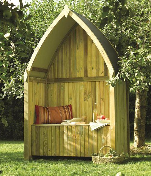 Winchester Wooden Arbour H2.1m