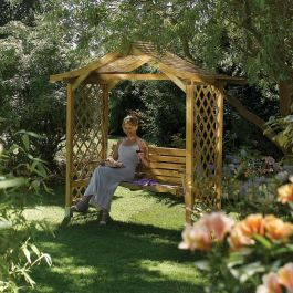 H2.3m (7ft 6in) Dartmouth Swing Arbour by Rowlinson®