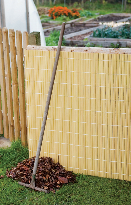 Split Bamboo Artificial Fencing Screening 4.0m x 2.0m (13ft 1in x 6ft 7in) - By Papillon™