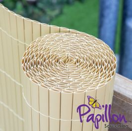 Bamboo Cane Artificial Fencing Screening 4.0m x 1.0m (13ft 1in x 3ft 3in) - By Papillon™