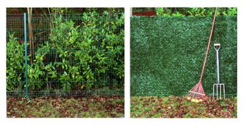 Conifer Hedge Artificial Fencing Screening 3.0m x 1.0m (10ft x 3ft 3in) - By Papillon™